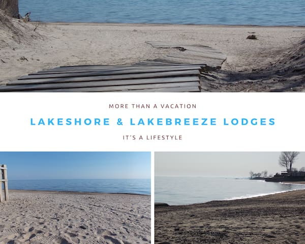 We are situated only a short distance to the Lake and River. There are numerous beaches  to choose from and explore on this amazing and beautiful shoreline.  Have a great time exploring and making memories!