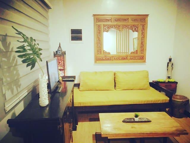 Asian inspired Condo Unit