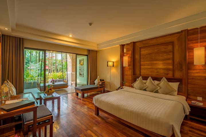 Modish and relaxing room in Siem Reap