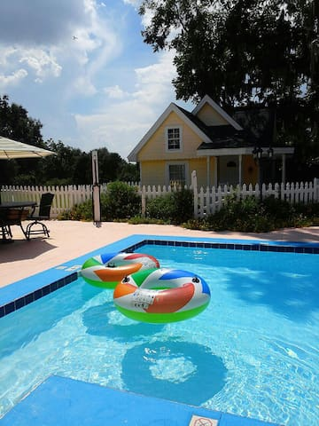 Families love our pool and outdoor spaces