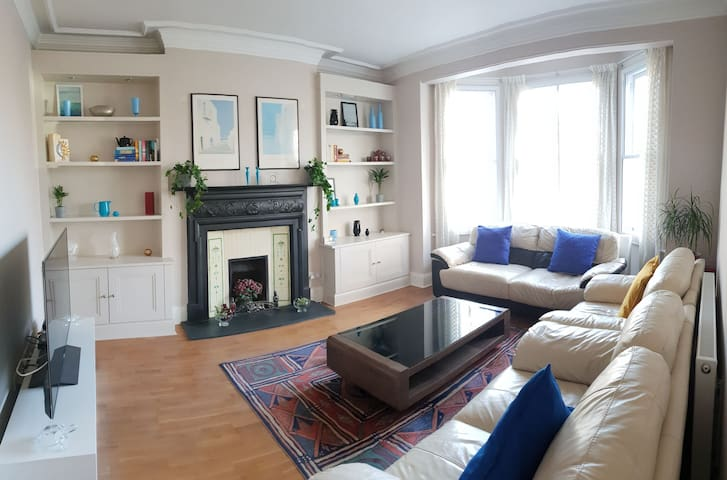 Lovely bright first floor flat