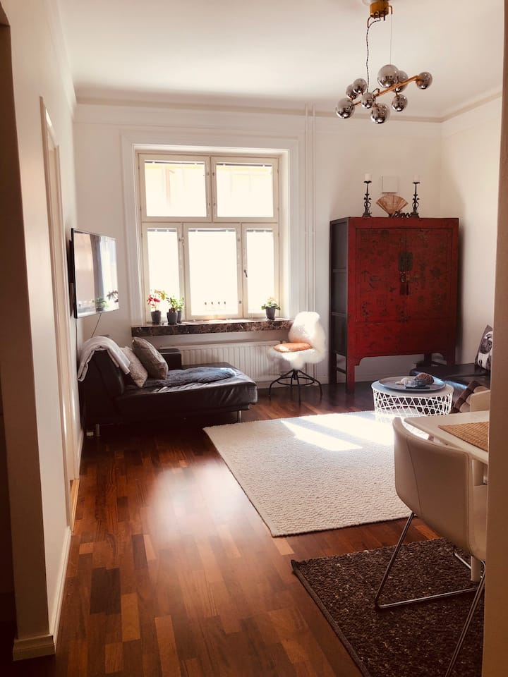Classy flat with incredible convenience