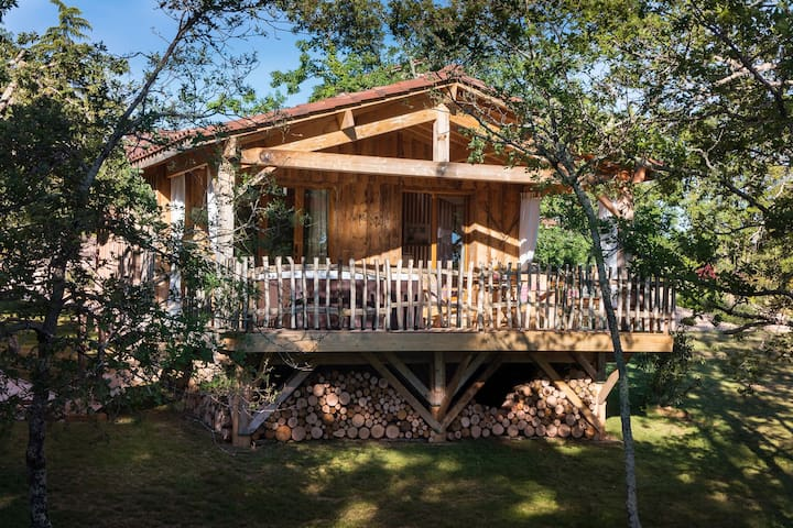 Les cabanes avec SPA privatif
