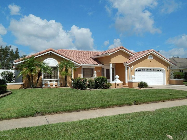 NEW Space Coast Family Home with private pool!