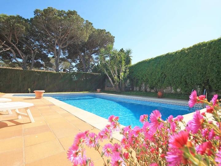 Lovely summer house with private pool in the Spanish Costa Brava-Mirador