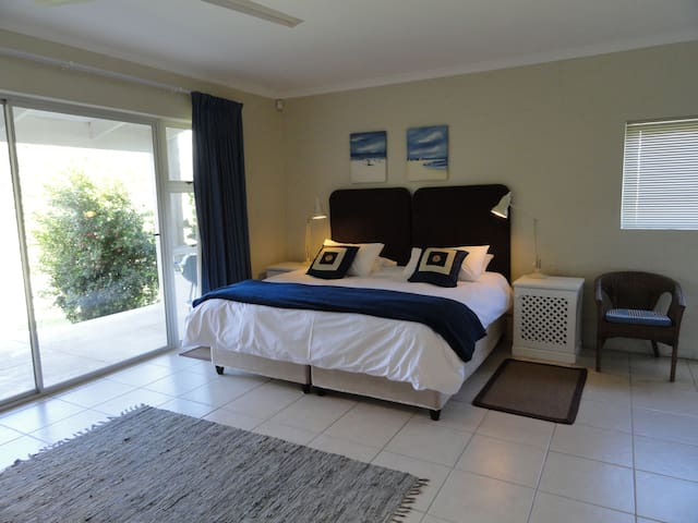 Private self catering double room