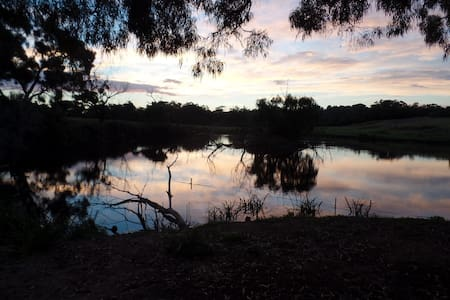 Set on the bank of a tranquil lake. - Langwarrin