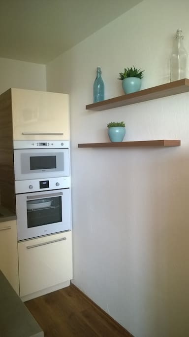 Fully equipped kitchen - incl. Microwave, cooking Aera and baking station