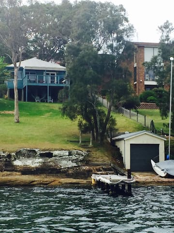 Your own jetty & boatshed