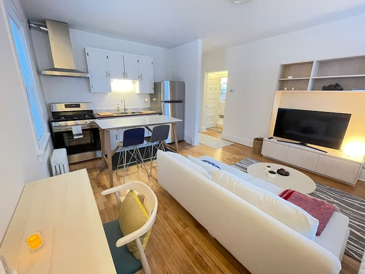 Charming, modern, newly renovated apartment