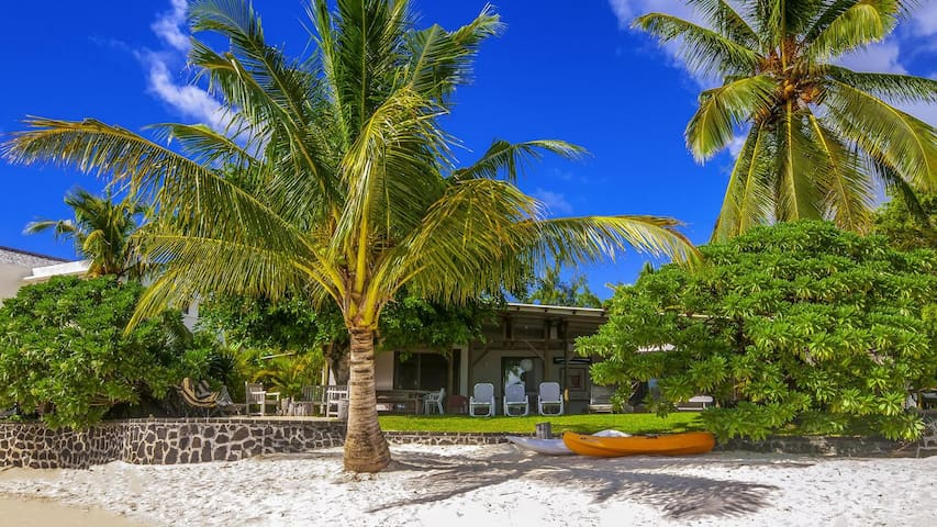 Tropical Garden and Private Beach