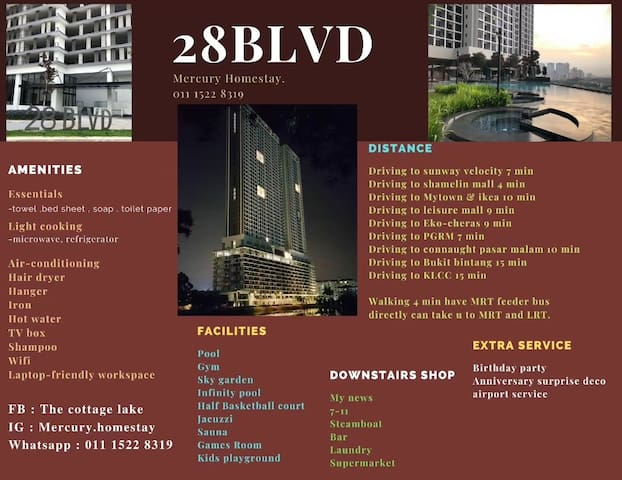28BLVD lucondo - LovelyHomestay nearby my town