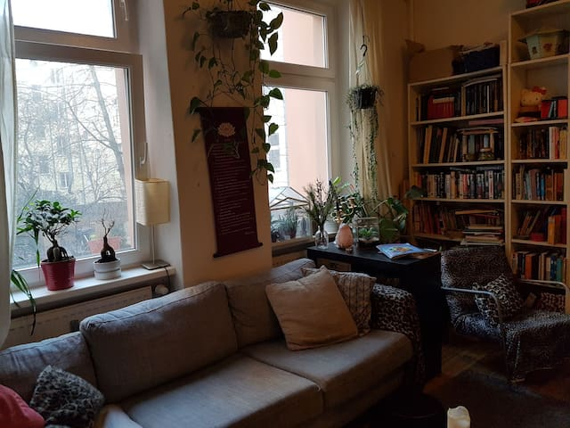 Cozy, calm, central appartement at Boxhagener Plat