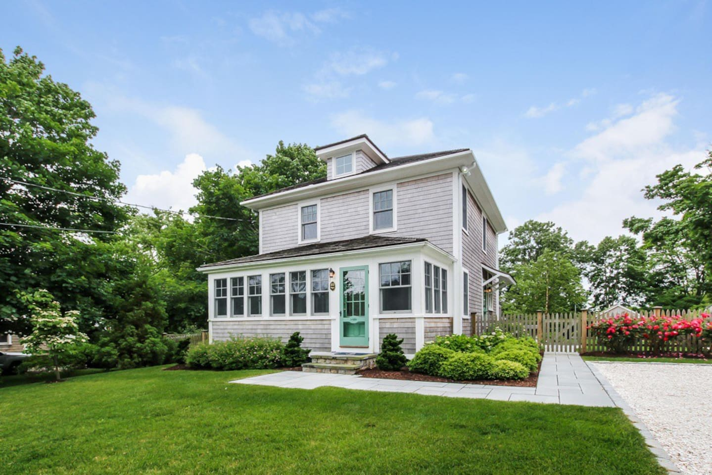 Warm, inviting and upgraded 3 BR coastal home in the heart of Chatham!