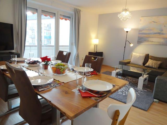 luxury 3 room appartment centre Augsburg - Augsburg - Departamento