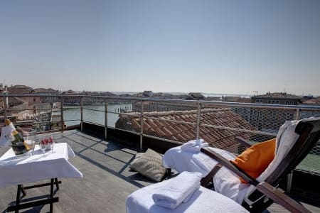 MURANO Suites - ACQUAMARE with rooftop terrace.