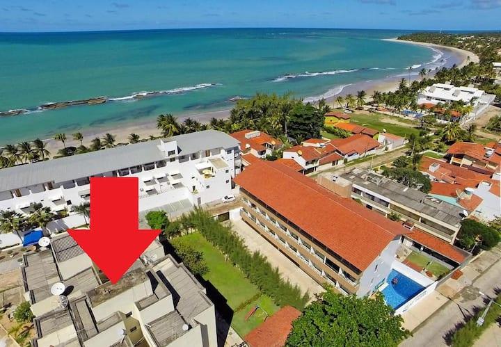 Apto Carneiros 50mts da praia e piscinas naturais