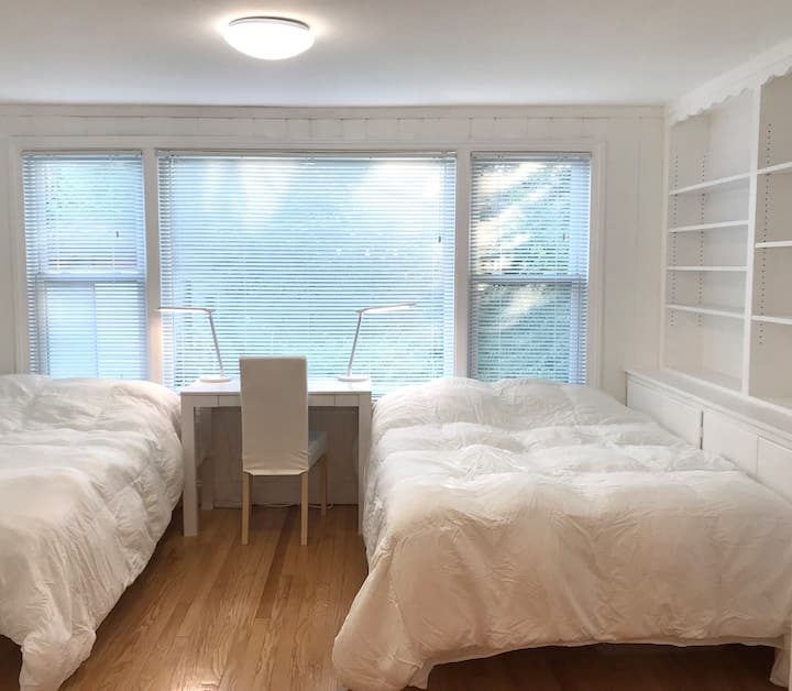 Rm4 Quiet&Cozy CityLakeHouse Chicago—Nonsmkrs Only