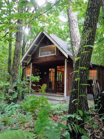 Mi Cabana: gallery and retreat in a tinyhome!