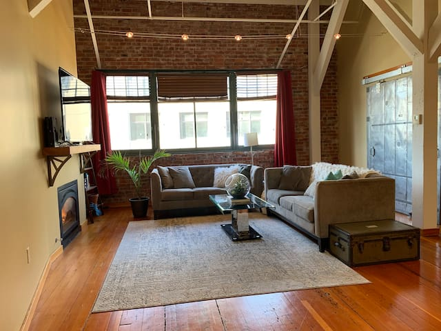 New Loft in Downtown Tacoma.