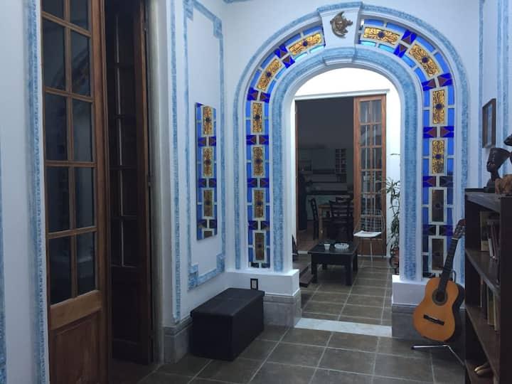 Habitación superior en Casa Figari