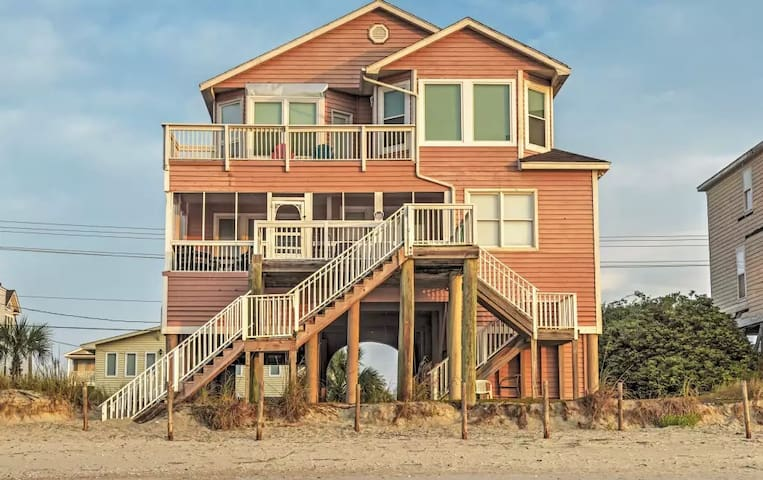 Amazing 6BR Murrells Inlet House - ムレルスインレット - 一軒家