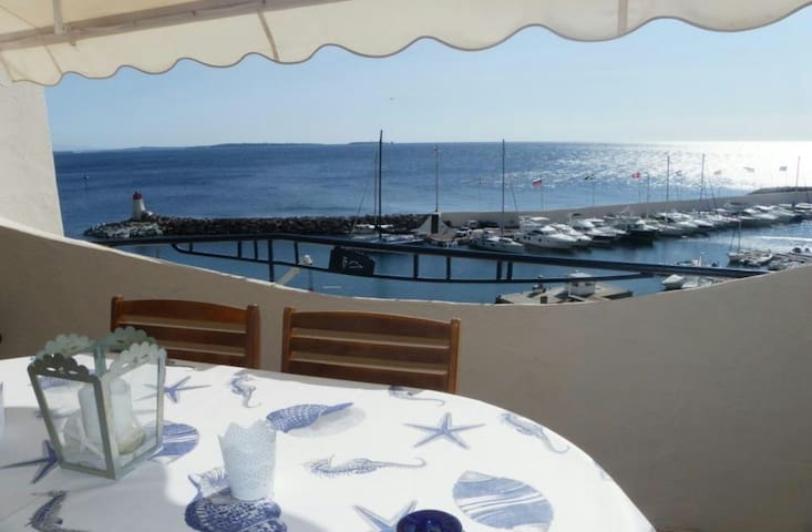 Sea view flat in the heart of French Riviera - Teula de Mar - Pis