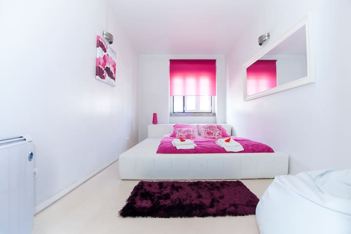 Ana's Design Apartments. Bright and charming.