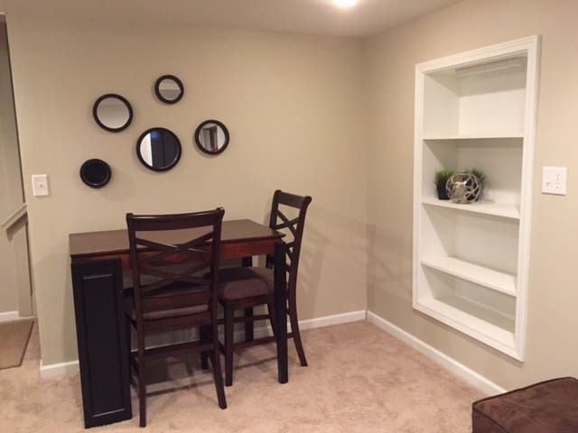 Cute, Updated and Spacious Basement apartment