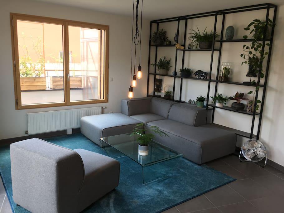 Appartement sympas en toit terrasse appartements for Appartement terrasse lyon