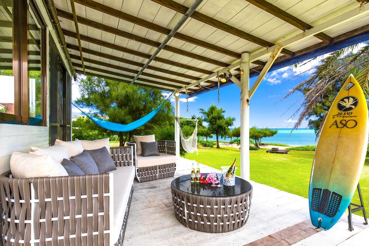 Private beach villa(一棟貸切)