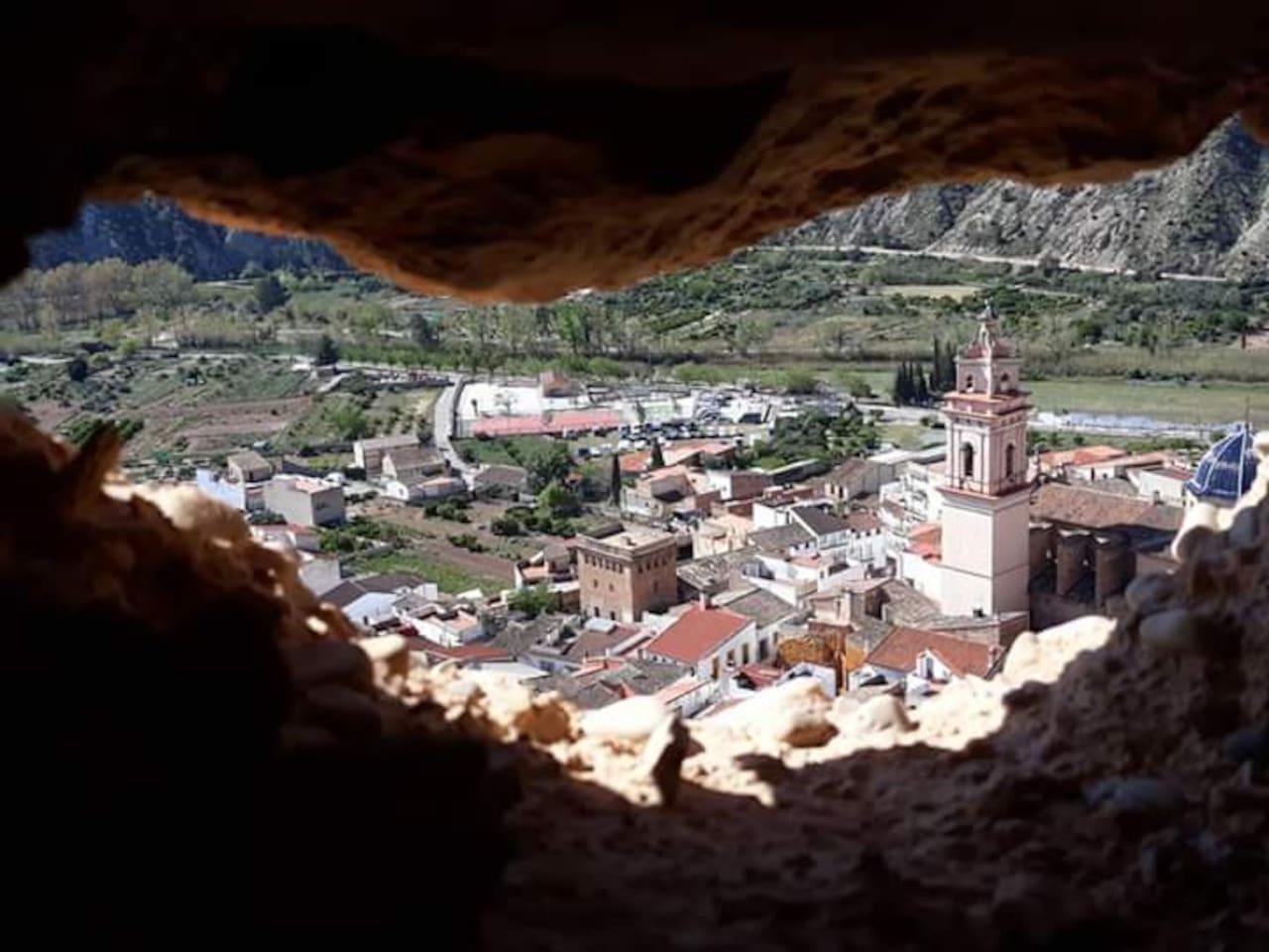un pueblo de cuento ... en la serrania valenciana: ven a gestalgar