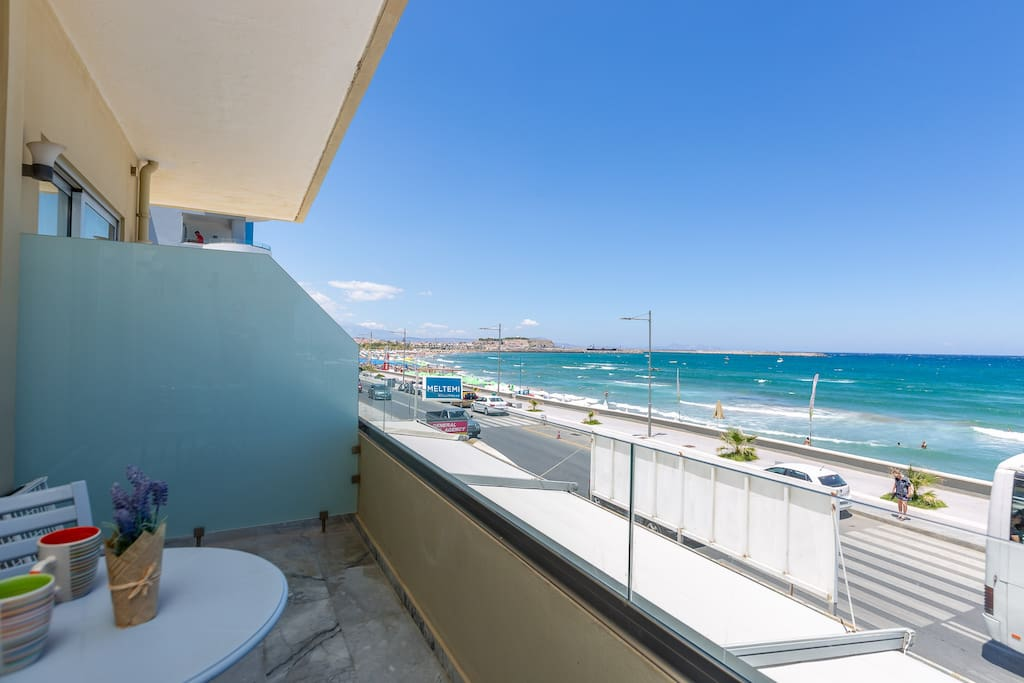 Balcony highlight: Sea view and Spacious