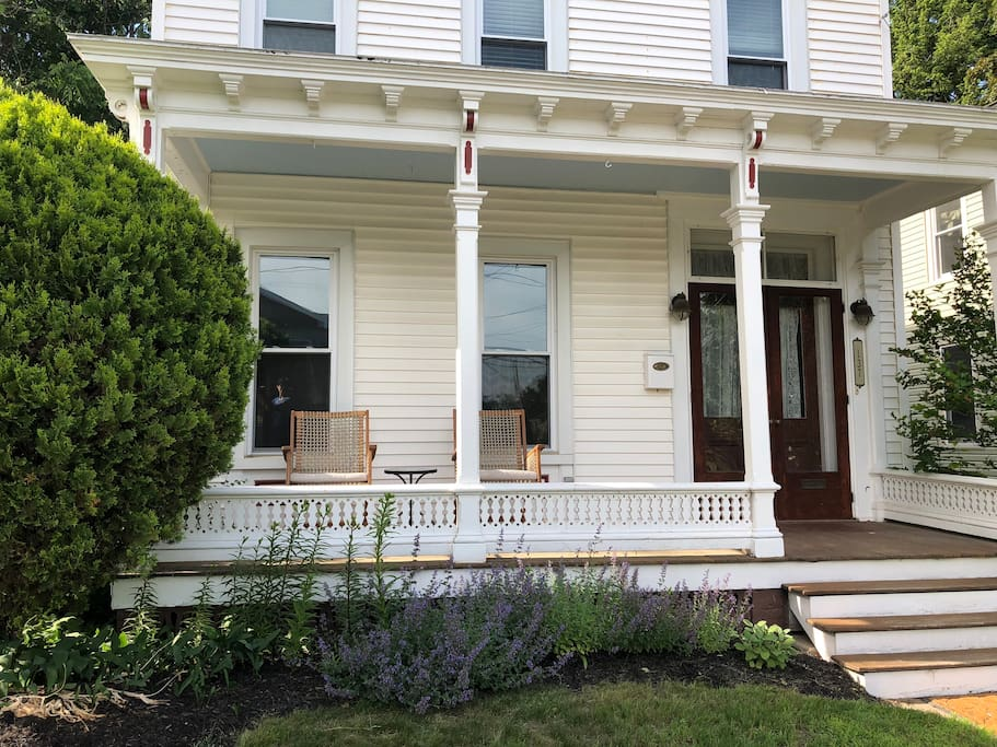 19th Century Victorian with cozy front porch