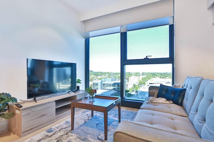 "Splendid apartment S6-2A 2BR/2BA*pool&gym""Box Hill"