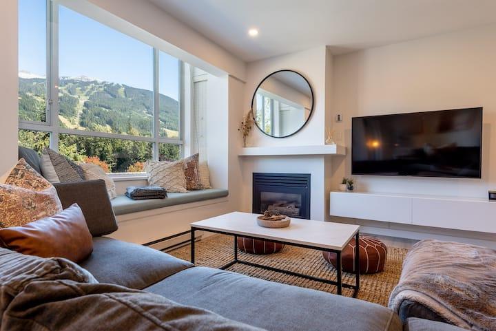 Location Plus Views - 2 bedroom condo in Whistler Village.