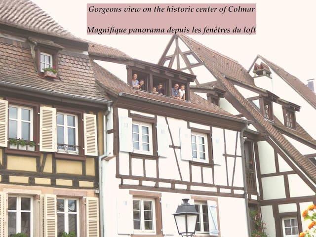 Loft Colmar centre Petite Venise  3*VueParkingWIFI