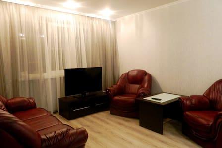 Квартира преммиум класса на сутки в центре города - Homieĺ - アパート