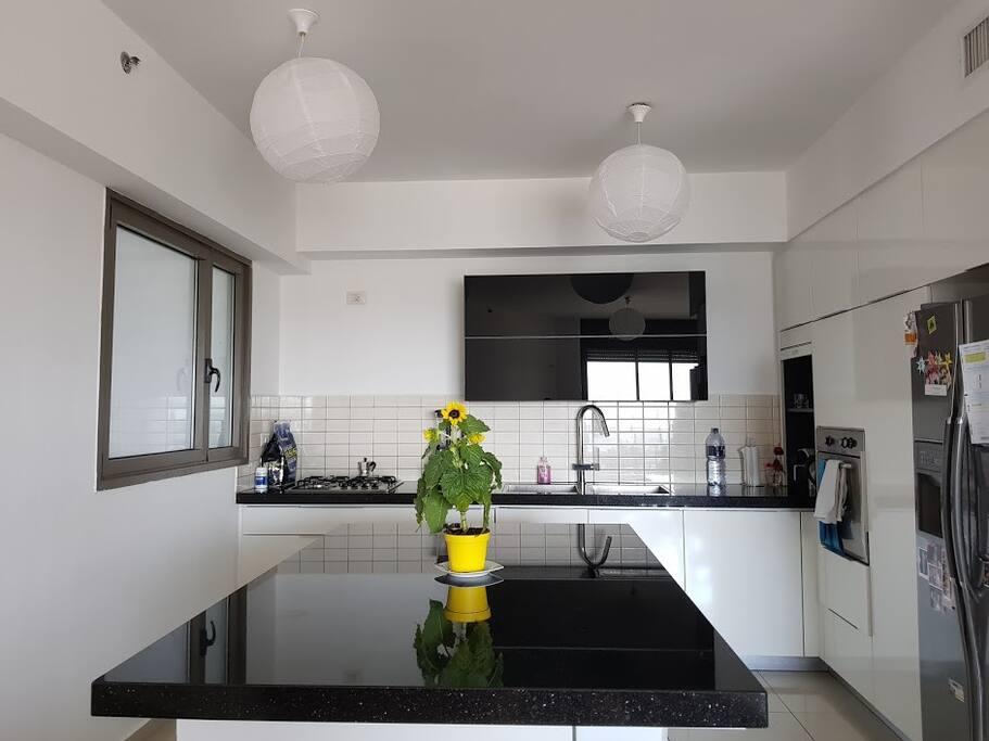 Big and Modern Kitchen