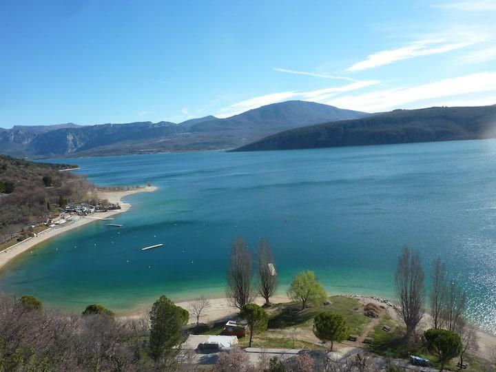 Appartement vue sur le lac