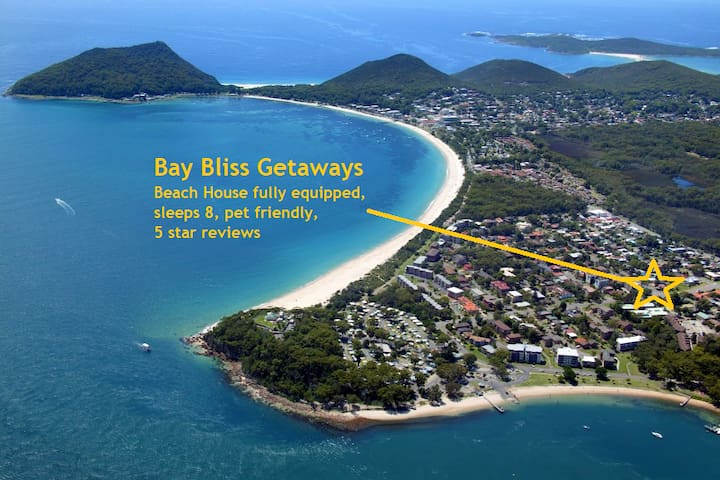Bay Bliss, prime Nelson Bay location, pet friendly