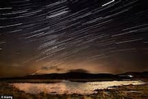 Stargazing at the Brecon Beacons National park Observatory in Libanus is very popular