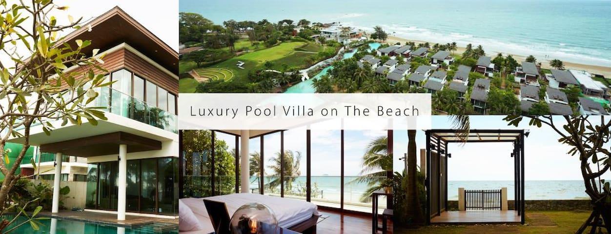 Luxury Beach Front Pool Villa, Phuphatara Rayong