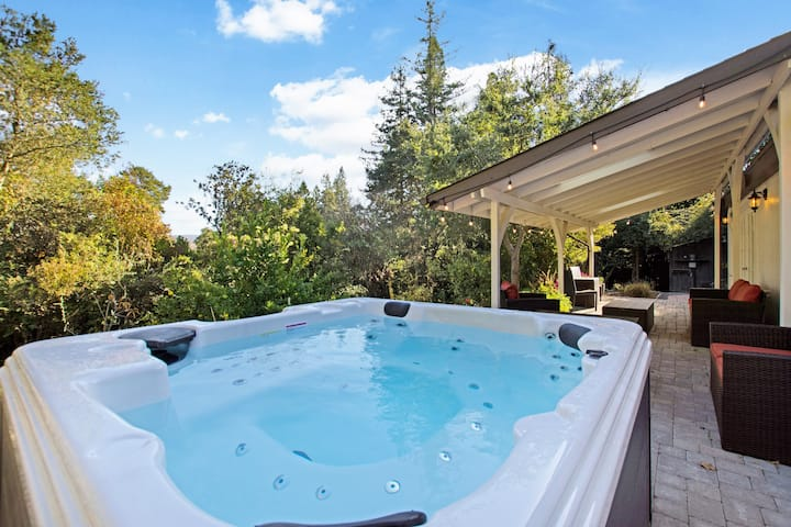 Wine Country Garden Cottage Cottages For Rent In Santa Rosa