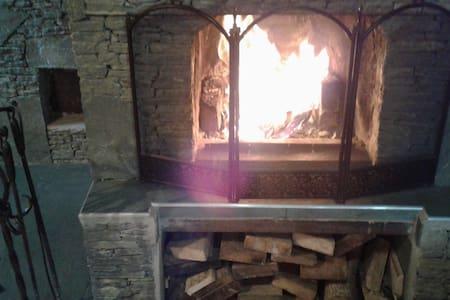 Bungalow with fireplace and sauna - Terskol - Bungalow