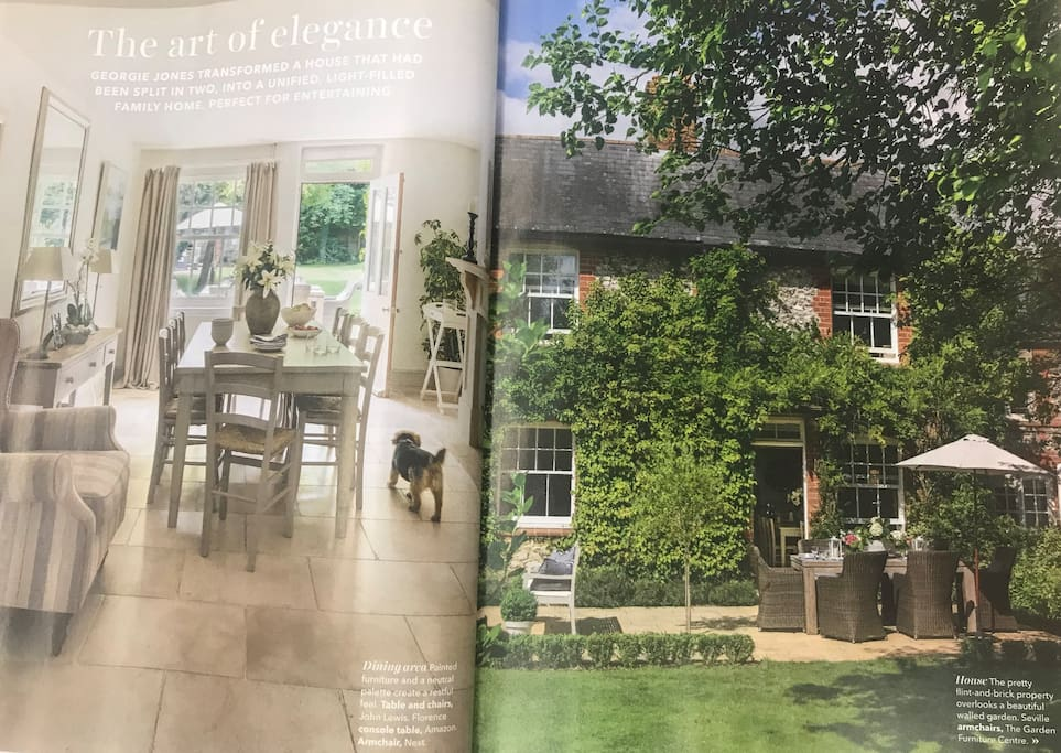 Country Homes & Interiors July 18 edition