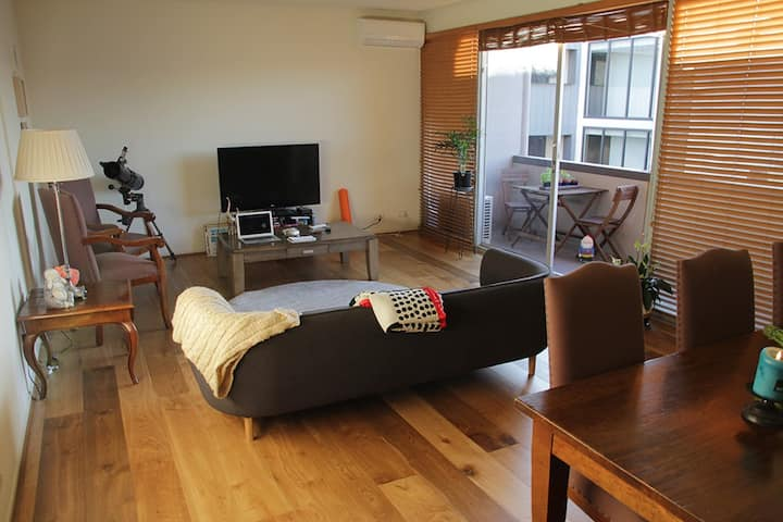 Peaceful Inner City 1BR Sanctuary (15min from CBD)
