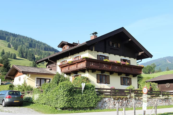 Spacious Apartment in Leogang Salzburg with Garden