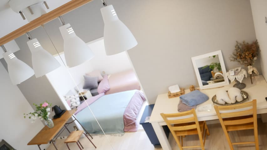 Cozy flat Disney15min/Imperial Palace16min/Airport