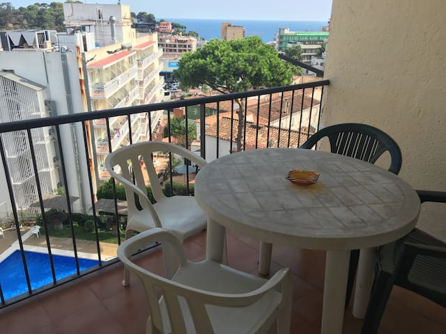 Apartment with 1 room &swiming pool - Selva - Wohnung